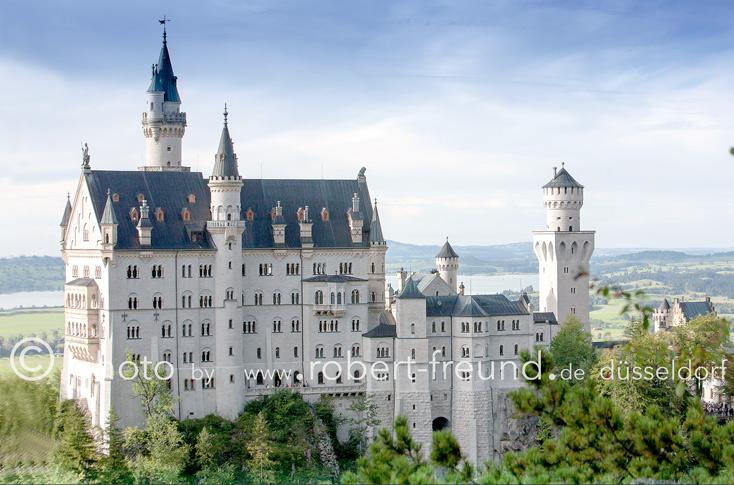 Schloss Neuschwanstein von Düsseldorf Fotograf Robert Freund als Landschafts-Fotografie Bild fotografiert.