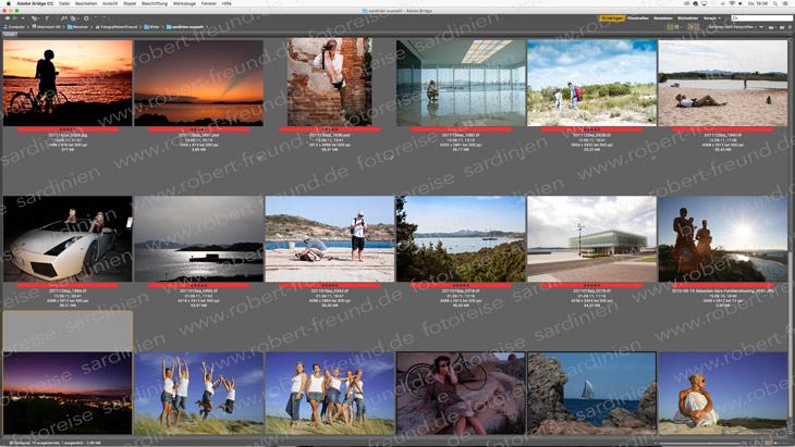 Fotoreisen nach Italien auf Sardinien mit traum Fotokursen an der Costa Smeralda mit dem deutschen bekannten Fotografen Robert Freund
